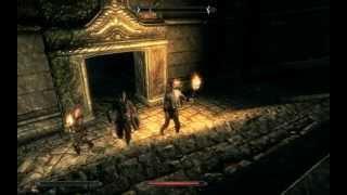 skyrim: Пройти игру первым уровнем - Стена Алдуина