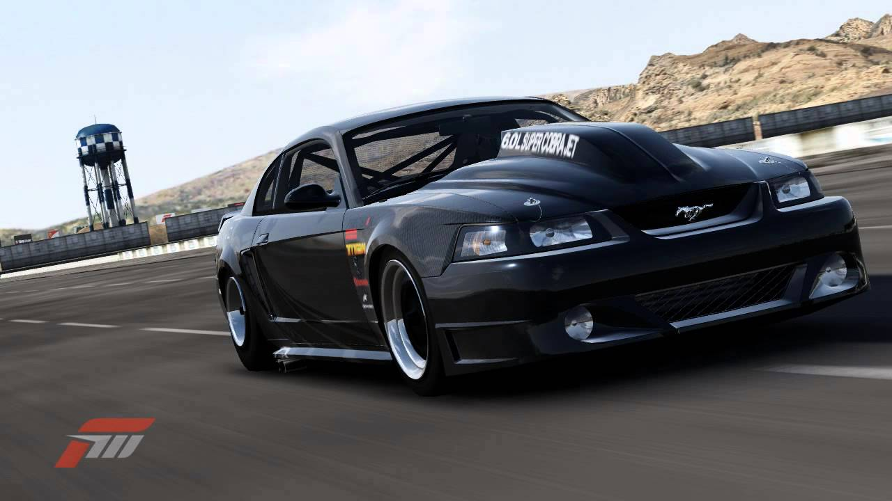 Mustang Cobra From Hell 1300hp wheelie part 2! - YouTube
