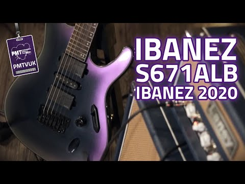 New Ibanez S671ALB Axion Label Electric Guitar – Ibanez 2020