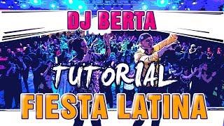 FIESTA LATINA - TUTORIAL - Dj Berta - Spiegazione dei passi - Balli di gruppo line dance 2019