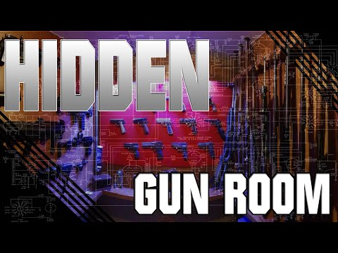 Hidden gun vault construction pt3 youtube for Walk in gun vault room