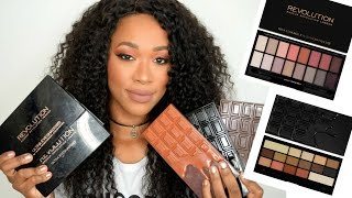 One of Tammi Clarke's most viewed videos: Makeup Revolution Palette Collection: Reviews & Swatches