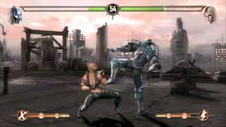 Mortal Kombat 9 - Complete Edition - Online - Sonia VS Cyber Sub Zero