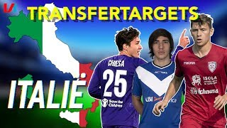 TRANSFERTARGETS Italië: De Italiaanse Edgar Davids & De Pirlo van de Serie B!