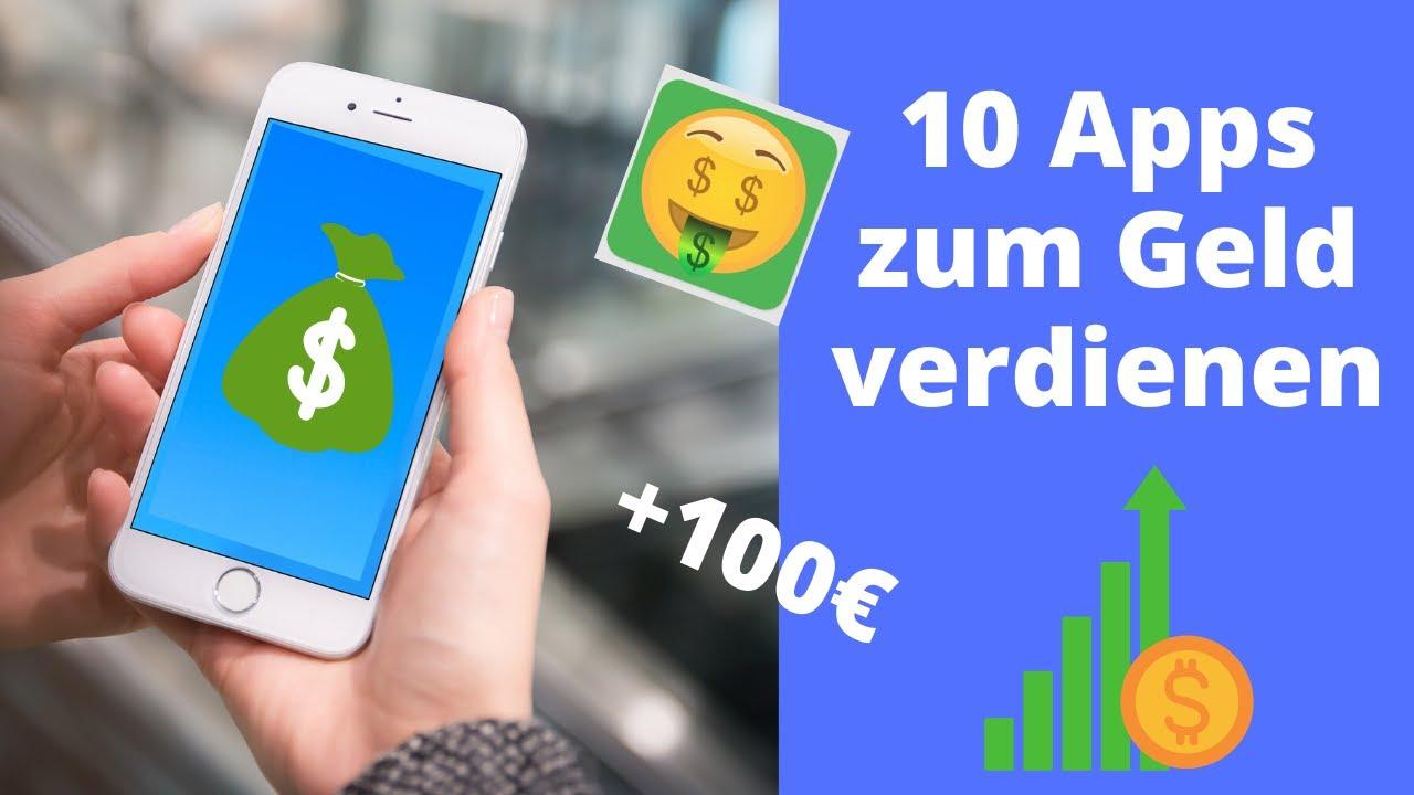 10 Apps zum Geld verdienen mit dem Handy! 💰 - YouTube