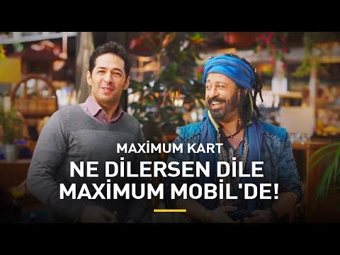 Ne Dilersen Dile Maximum Mobil'de!