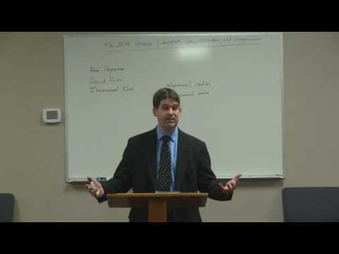 The Twentieth Century: Liberalism, Neo-Orthodoxy, and Evangelicalism - Aaron O'Kelley