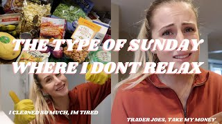 SUNDAY ROUTINE | TRADER JOES HAUL, CLEANING, CHURCH & HARRY STYLES