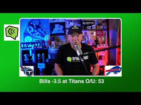 Buffalo Bills at Tennessee Titans Tuesday 10/13/20 NFL Picks & Predictions Week 5