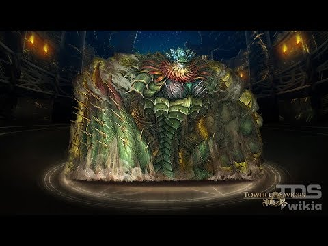 [Tower Of Saviors] Invincible Defense (Horror Stage) [S Rank 28667 Points]