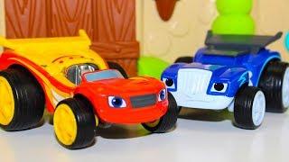 Мультики про машинки все серии подряд Игрушки Вспыш и чудо машинки новые серии Видео для детей