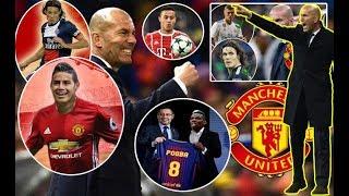 5 Arin oo dhici doonta Hadii Zidane uu Tababare u Noqdo Manchester United HD