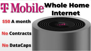 T-Mobile's Home Internet is Here | $50 a Month, No Contract, No Data Caps, No Fees. Game Changer? 🤔