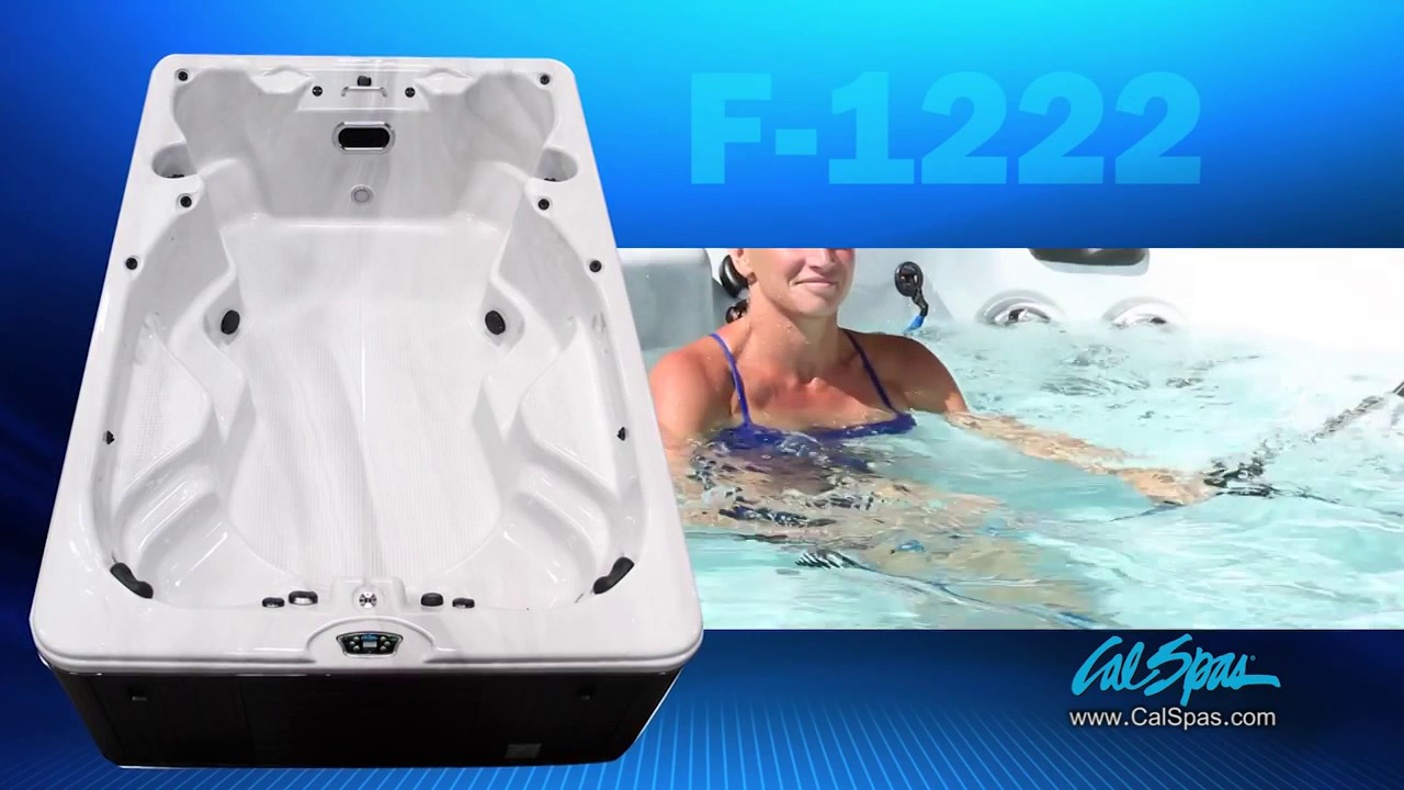 cal spas f 1222 best swim spa in 2014 youtube. Black Bedroom Furniture Sets. Home Design Ideas