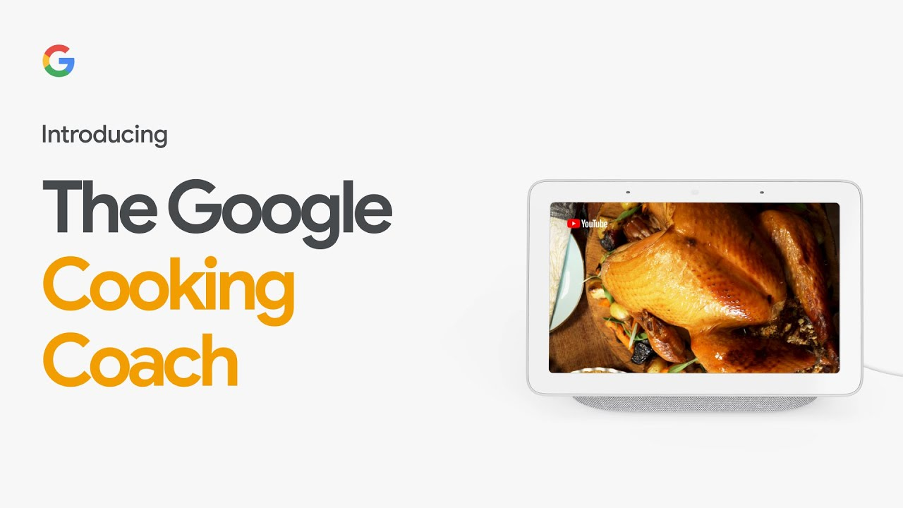 Introducing the Google Cooking Coach | Nest Hub