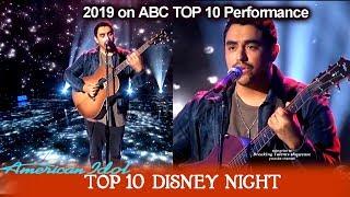 "Alejandro Aranda ""Remember Me"" from Coco HIS OWN ARRANGEMENT| American Idol 2019 Top 10 Disney Night"