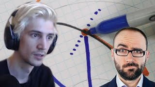 xQc Reacts to Laws & Causes - Vsauce