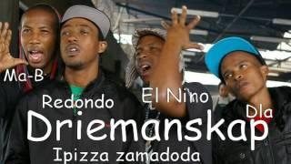 Driemanskap- Pizza Zamadoda