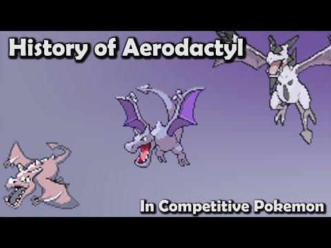 How GOOD was Aerodactyl ACTUALLY? - History of Aerodactyl in Competitive Pokemon (Gens 1-6)