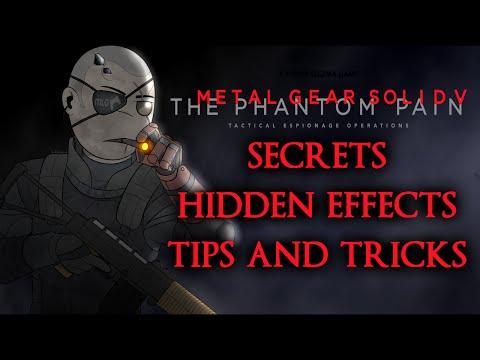 Metal Gear Solid 5 The Phantom Pain ► Secrets | Hidden Effects | Tips and Tricks + Quiet