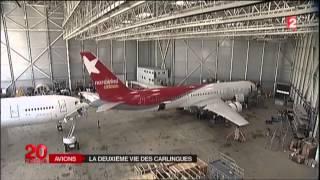 La France, leader européen du démantèlement des avions