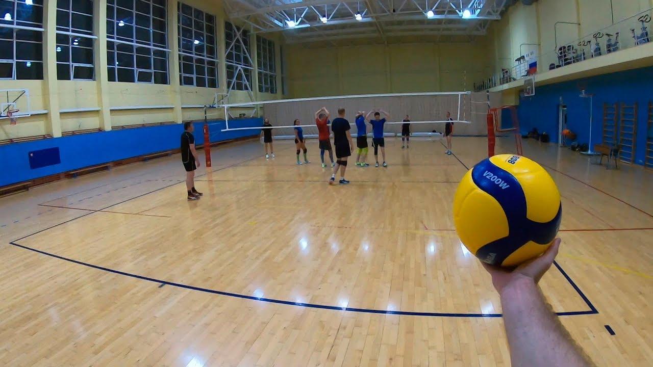 Волейбол от первого лица | Школа олимпийского резерва | Haikyuu | Волейбольные тренировки | POV