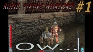 Let's Play Rune: Viking Warlord (Classic) - PART 1 - Crossing Swords (2013 Commentary)