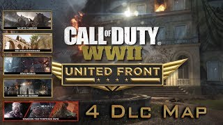 CALL OF DUTY WW2 United Front Trailer DLC First In PS4 2018