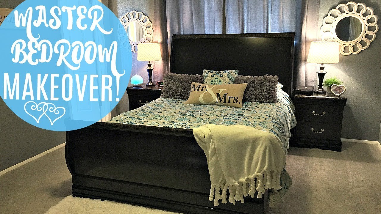 MASTER BEDROOM MAKEOVER | Tour of our Master Bedroom 2018
