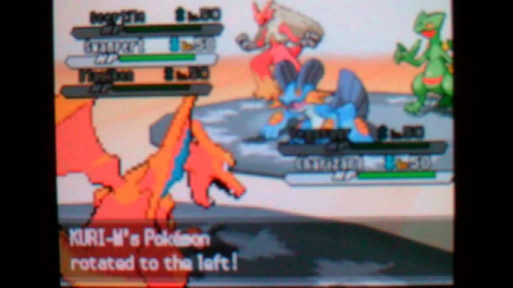 Pokemon B/W2 Rotation Battle: Starters Battle: Hoenn vs ...