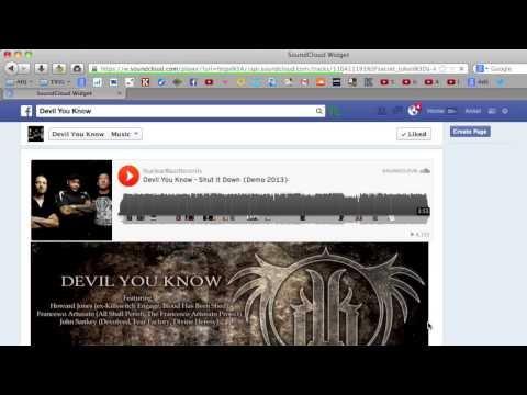How to download Facebook embedded SoundCloud song as mp3