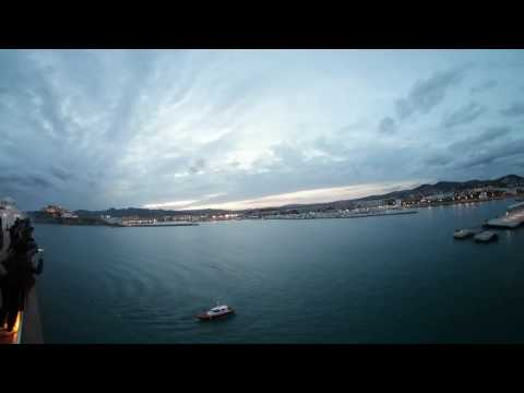 360° World Club Cruise 2017 Last Night Ibiza Harbor