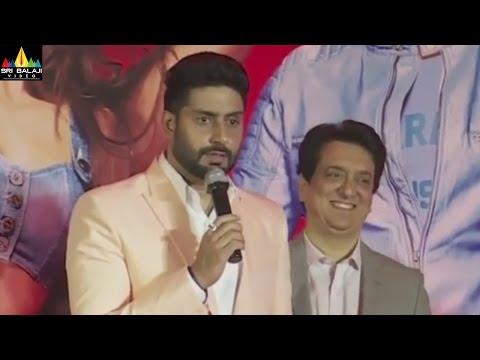 Reporter Tries to Insult Abhishekh Bachchan But Abhishek Insults Him Back | Sri Balaj Video