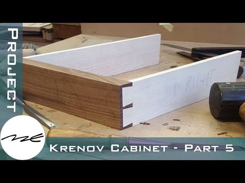 Dovetailed Drawers -