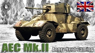 War Thunder: AEC Mk.II, British, Tier-2, Armored Car / Light Tank