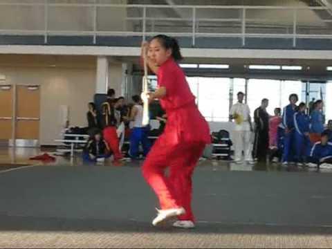 2009 Wushu Collegiates - Claudia Chern Spear