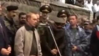 Горячий Август 1999 года. Путин прибывает в Дагестан. 27.08.1999. Putin. Dagestan.