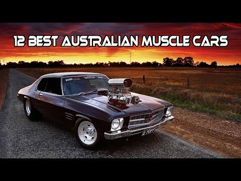 Top 12 Best AUSTRALIAN MUSCLE CARS Of All Times