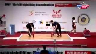 Чемпионат мира по тяжелой атлетике 2013! Женщины 53 кг! Рывок