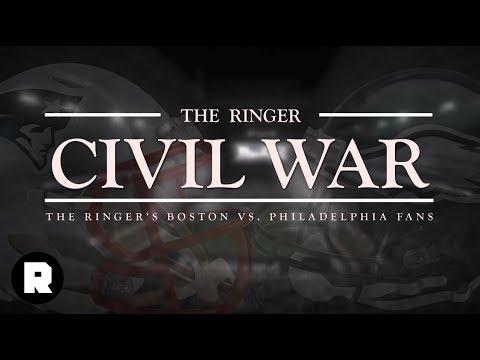 The Ringer Civil War: Eagles vs. Patriots Fans   Super Bowl 52   The Ringer