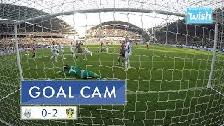 Goal Cam! What a strike! Alioski volley in the Yorkshire derby!