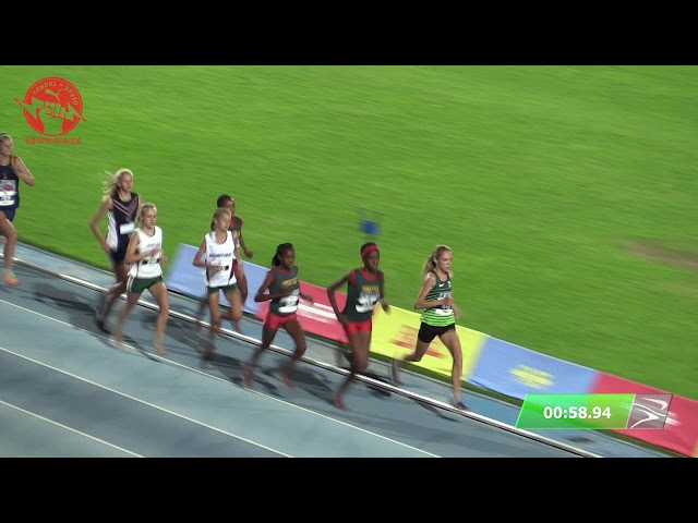 Girls 15 800m Final - 2020 Tuks PUMA School of Speed