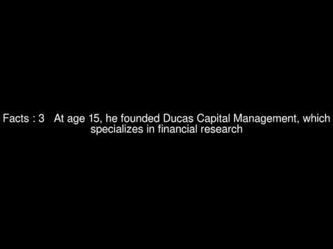 John Ducas (investor) Top  #6 Facts
