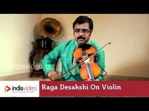 Raga Series - Raga Desakshi on Violin by Jayadevan