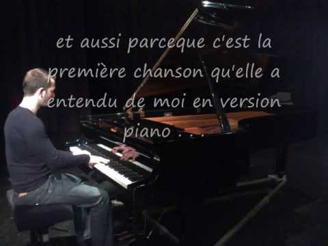 Piano voix, Axelle Red Parceque c'est toi by Laurent Callens / Christophe Dubois
