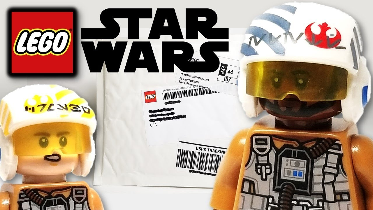 Get the NEW Finch Dallow Bomber Minifig! (2019 LEGO Star Wars Unboxing)