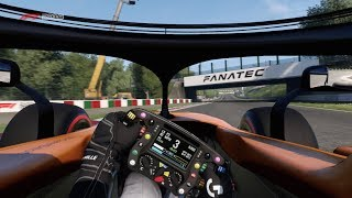F1 2018 First Attempt at some Online Races