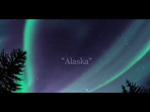 Northern lights in ALASKA, march 2016, rare video caught on camera