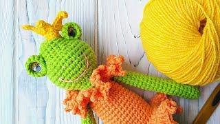 Как связать маленькую корону крючком // мастер-класс toyfabric