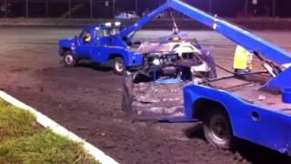 Volusia speedway park bad wreck